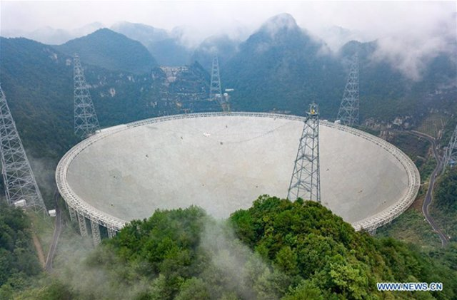 El telescopio chino FAST se suma a la búsqueda de inteligencia no terrestre