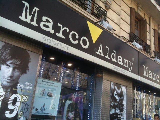 Recurso de las peluquerías de Marco Aldany