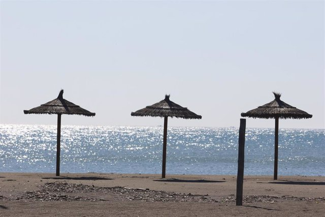Playa Playamar, en Torremolinos