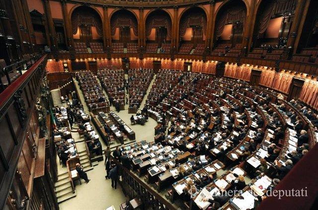 El hemiciclo de la Cámara de Diputados