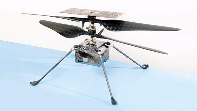 La NASA nombra Ingenuity al helicóptero de Marte
