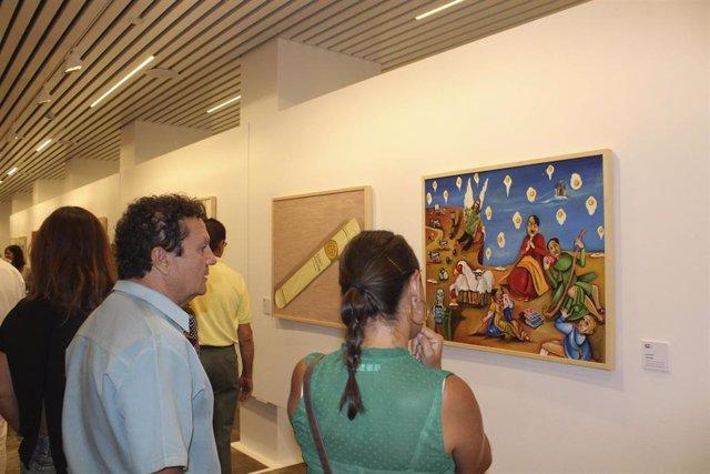 Huelva.- Coronavirus.- El Otoño Cultural Iberoamericano organiza una subasta tel