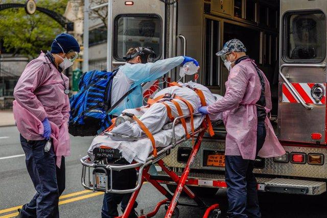 Coronavirus.- Nueva York mantiene la tendencia a la baja con otras 330 muertes e