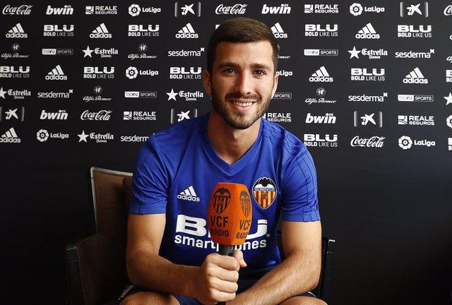 El jugador del Valencia CF José Luis Gayà