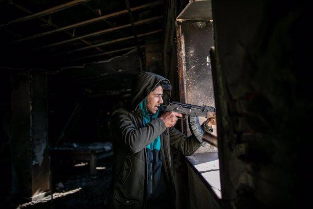 Libia.- El Ejército Nacional Libio anuncia un alto el fuego mientras dure el Ram