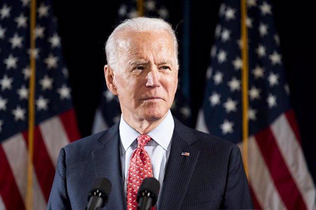 El exvicepresidente estadounidense Joe Biden.