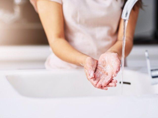 Lavado de manos con jabón, covid-19, coronavirus