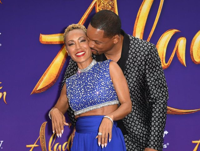 "Jada Pinkett Smith And Will Smith Attends The Premiere Of Disney's ""Aladdin"" At El Capitan Theatre"