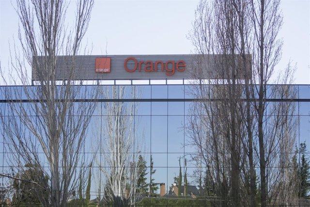 Sede de la empresa Orange en el Parque Empresarial La Finca de Pozuelo de Alarcón (Madrid).