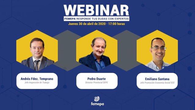 Femepa celebra este jueves un nuevo seminario web con expertos en materia laboral