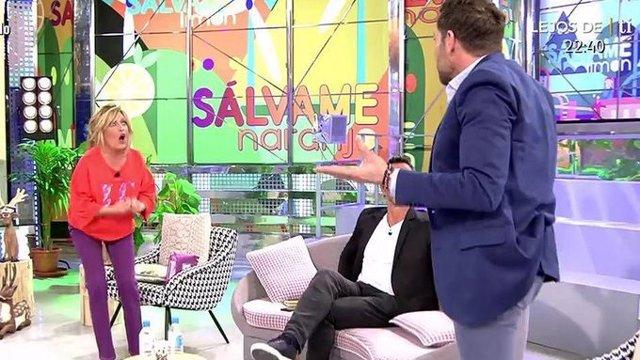 Lydia Lozano se enfrenta a Antonio David en Sálvame