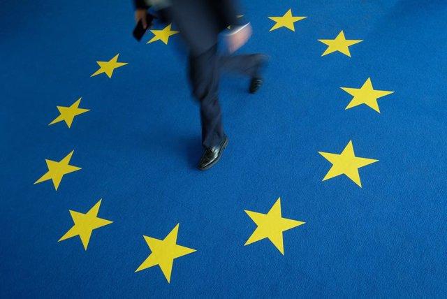 UE.- El PIB de la zona euro sufrió una contracción récord del 3,8% en el primer