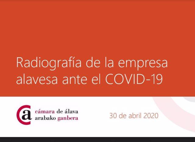El informe de la Cámara de Comercio analiza el impacto de la covid-19 en la economía del territorio.