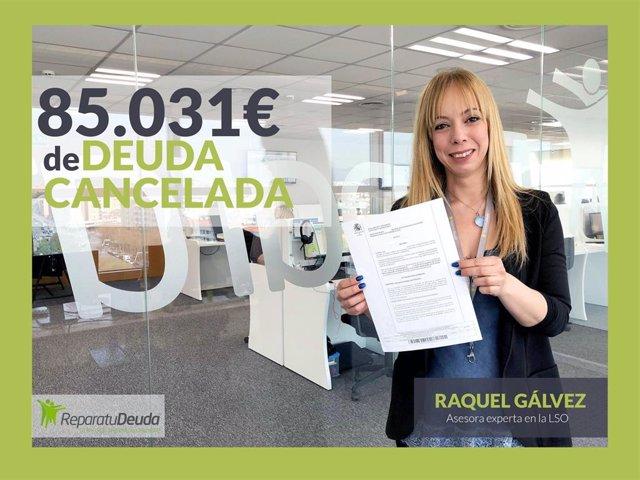 Los abogados de Repara tu deuda cancelan 85.031 € a un matrimonio
