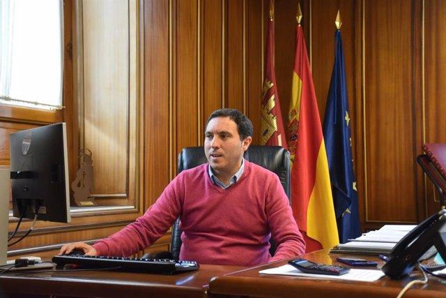 El presidente de la Diputación, Álvaro Martínez Chana
