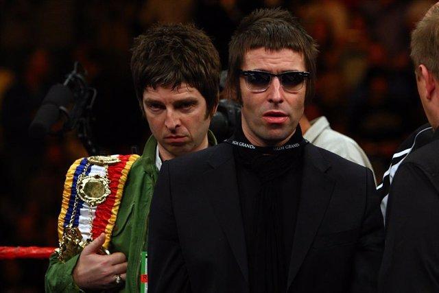 Noel y Liam Gallagher