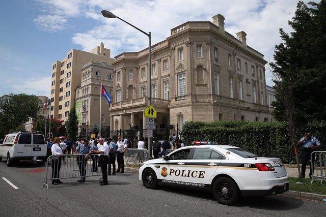 """Cuba/EEUU.- Cuba denuncia una """"agresión armada"""" contra su Embajada en EEUU"""