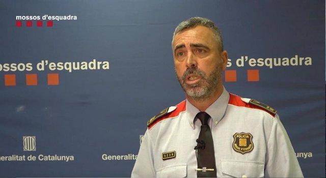 El subjefe de la División de Investigación Criminal de los Mossos, Ramon Chacón