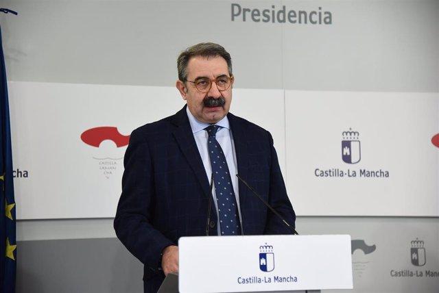El consejero de Sanidad del Gobierno de Castilla-La Mancha, Jesús Fernández Sanz