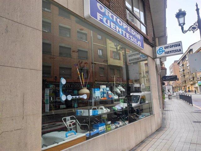 Establecimiento de ortopedia en Oviedo.
