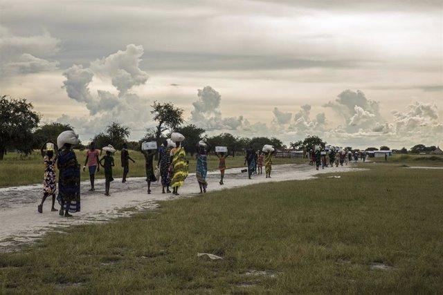 """Sudán del Sur.- ACNUR alerta de una """"tormenta perfecta"""" en Sudán del Sur por el"""