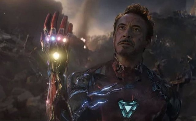 Robert Downey Jr. Es Iron Man en Vengadores: Endgame