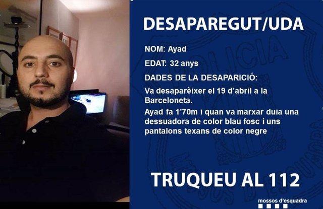 El desaparecido en la Barceloneta