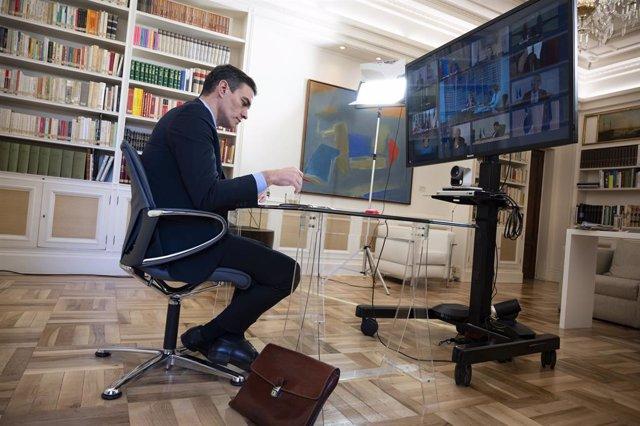 UE.- Sánchez participará por videoconferencia en la Cumbre UE-Balcanes, a la que