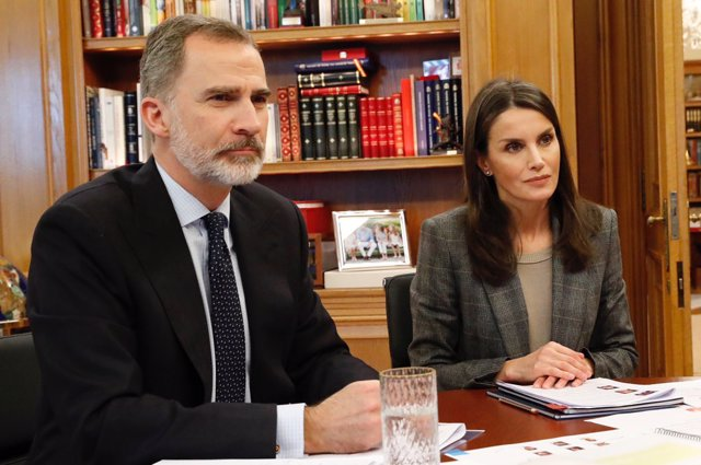 Coronavirus.- Felipe VI habla con el Rey Abdalá de Jordania para analizar los ef
