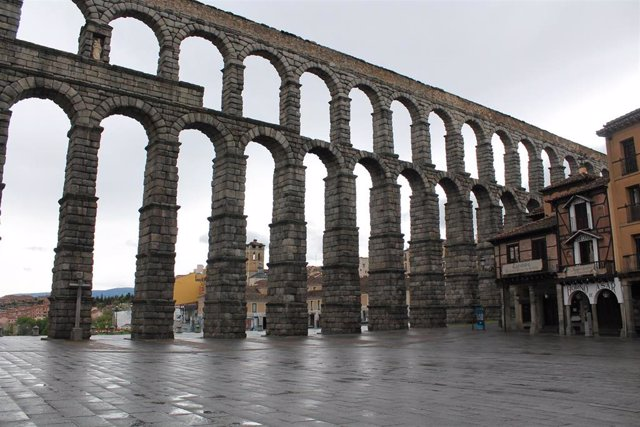 El acueducto de Segovia.