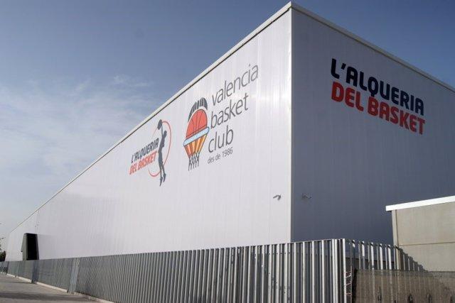 La nueva L'Alqueria del Basket del Valencia