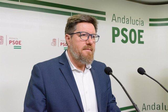 El portavoz adjunto del Grupo Socialista en el Parlamento andaluz, Rodrigo Sánchez Haro, en una foto de archivo.