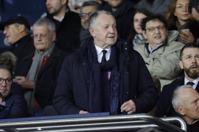 Jean-Michel Aulas, presidente del Olympique de Lyon