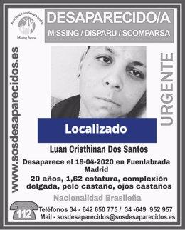 Sucesos.- Localizado el joven de 20 años desaparecido desde hace once días en Fu