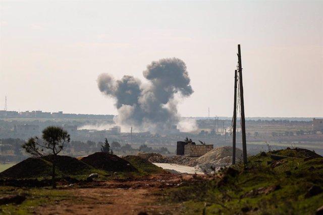 Siria.- Damasco acusa a Israel de lanzar un ataque contra objetivos sirios en el