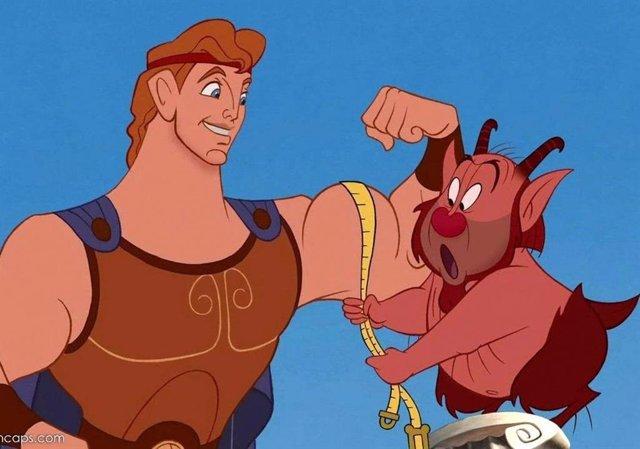 Imagen de Hércules, el clásico de animación de Disney