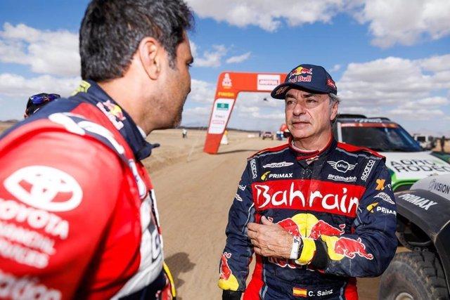 """Rally.- Carlos Sainz: """"He hecho un buen acoplamiento a los 'raids', pero creo qu"""
