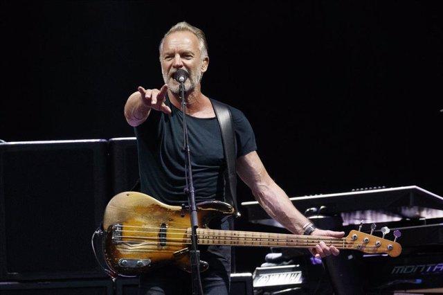 El cantante británico Sting, foto de archivo