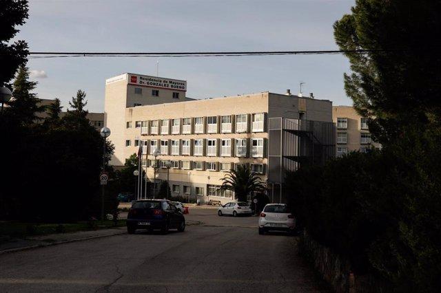 Residencia pública Doctor González Bueno en Madrid el 24 de abril de 2020, durante la pandemia del coronavirus. En ella la Agencia Madrileña de Atención Social (AMAS) retiró una partida de mascarillas defectuosas que llegaron a la residencia, que es la má