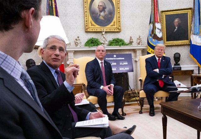 Coronavirus.- La Casa Blanca bloquea la declaración de Fauci ante el Congreso so