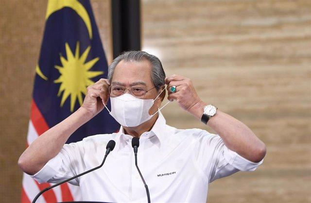 El primer ministro de Malasia, Muhyiddin Yassin