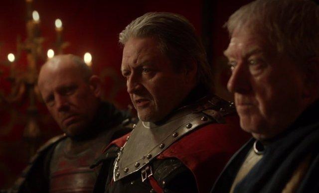 B.J. Hogg en la serie Juego de tronos