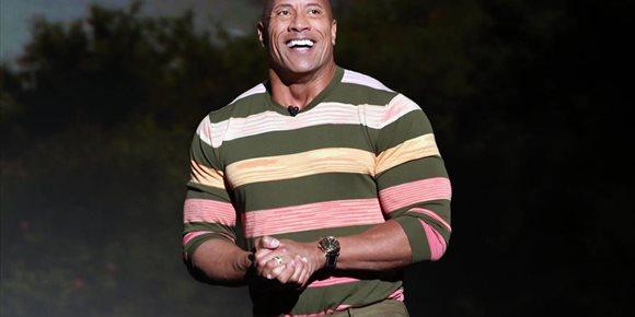 2. Dwayne Johnson, 'The Rock', cumple 48 años
