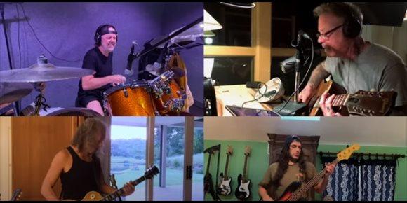 10. VÍDEO: Metallica comparte una versión especial de 'Blackened' en confinamiento