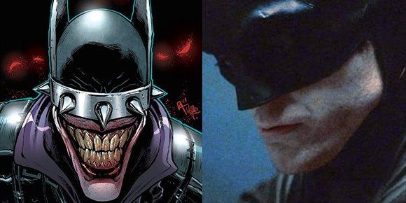 9. Robert Pattinson se convierte en 'Batman Que Ríe', la versión más retorcida del Caballero Oscuro
