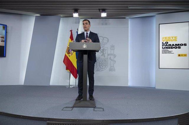+++eptv: Coronavirus.- Sánchez anuncia un fondo no reembolsable de 16.000 millon