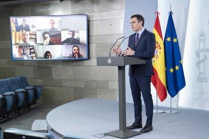 """Pedro Sánchez espera que LaLiga se reanude """"cuanto antes"""""""