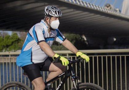 Seis ciclistas resultan heridos en accidentes en la Comunitat durante la primera mañana de salidas deportivas