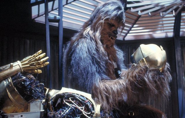 Chewbacca en Star Wars: El Imperio contraataca