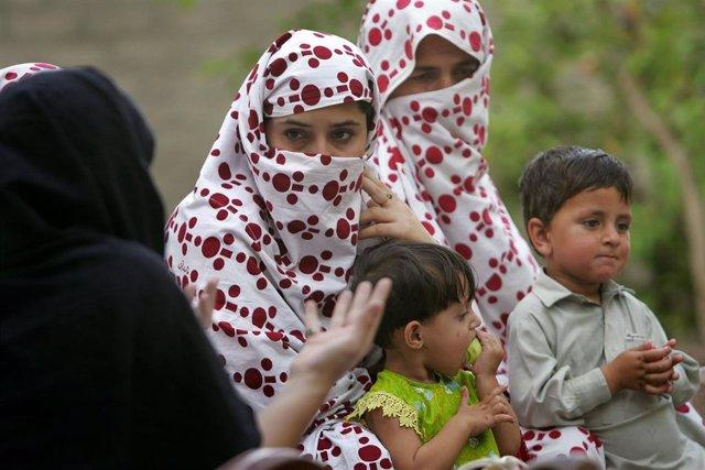 Mujeres pashtunes en el oeste de Pakistán